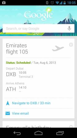 Emirates to sync Google Now with online bookings