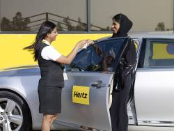 Hertz offers round the clock service for Middle East travellers