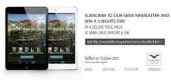 Maya Ubud Resort & Spa launches social media contest