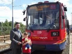 Stagecoach Supertram announces British Transplant Games partnership