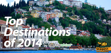 TripAdvisor names the top destinations around the world in 2014