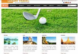 Luxury Travel Plans Website for Premium Passengers
