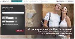 Marriott reveals new Brazilian website