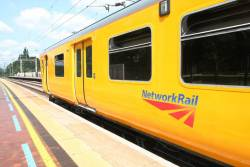 Network Rail's newest train takes to the rails