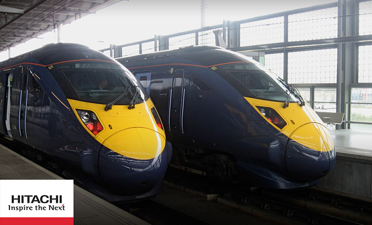 Hitachi secures £2.7 billion in funding for new London-Edinburgh high-speed rail connection